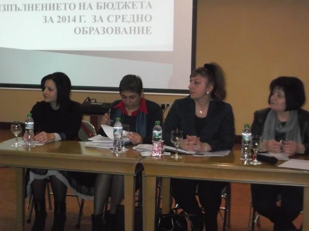 """Директори  на училища и детски градини от областта обсъждаха делегираните бюджети в """"Тримонциум""""."""