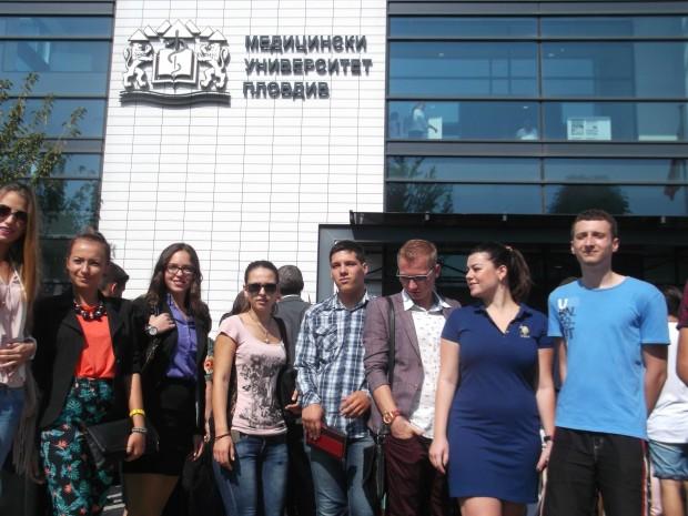 Основната част от чуждестранните студенти учат в Медицинския университет.