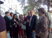 Стартът на обходите бе даден в пловдивския квартал Столипиново и самият министър Красимир Вълчев обиколи три адреса.